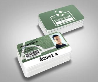 Impression cartes pvc badges carte plastique aux - Machine pour faire des badges ...
