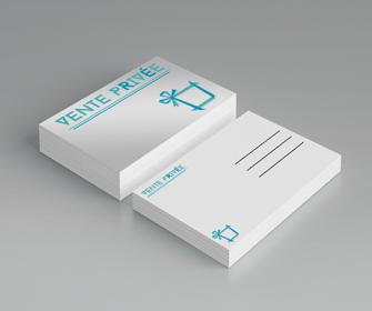 Impression Cartes De Correspondance Postales Et