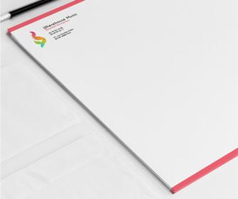 Connu Impression papier en tête de lettre | Print and Web VV64